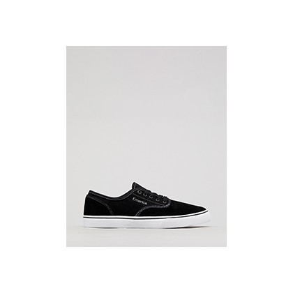 "Wino Standard Shoes in ""Black/White/White""  by Emerica"