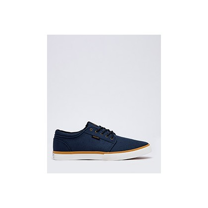 "Remark Shoes in ""Navy Tan""  by Kustom"