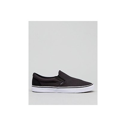 Heritage Slip-On Shoes in Black/Black by Jacks