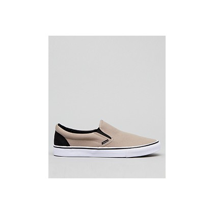 "Heritage Slip-On Shoes in ""Sand/Black""  by Jacks"