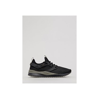 Next Excel Shoes in Puma Black-Charcoal Grey by Puma
