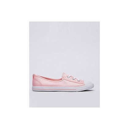 Womens Ballet Lace Shoes in Stormpink/Stormpink/White by Converse