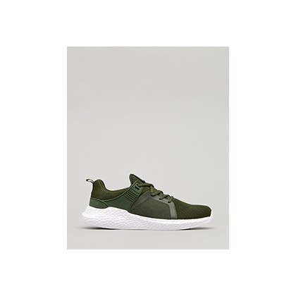 "Salvage Shoes in ""Olive/White""  by Lucid"