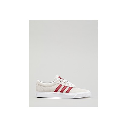 "Adi Ease Shoes in ""Crystal White/Collegiate""  by Adidas"