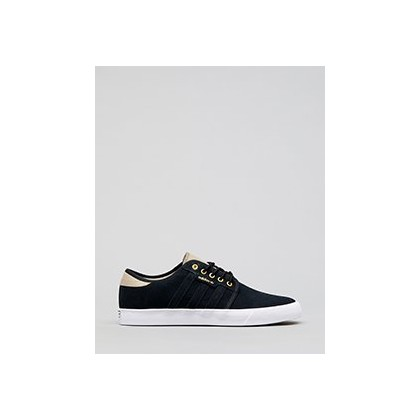 Seeley Shoes in Core Black/Ftwr White/Tra by Adidas