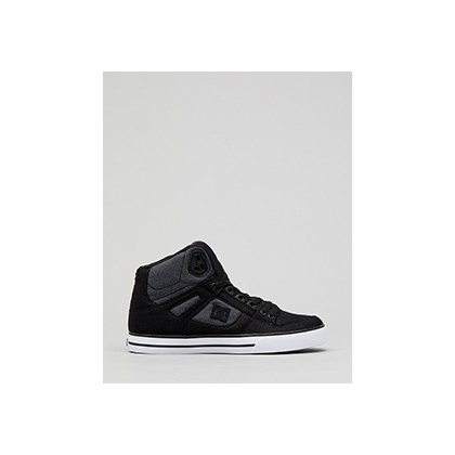 "High-top Wc Tx Se in ""Black Dark Used""  by DC Shoes"