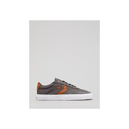 """Courtland Shoes in """"Carbon Grey/Warm Tan/Whit""""  by Converse"""