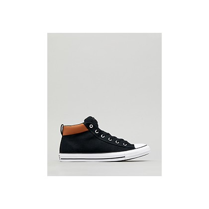 "Chuck Taylor Mid Shoes in ""Black/Warm Tan/White""  by Converse"