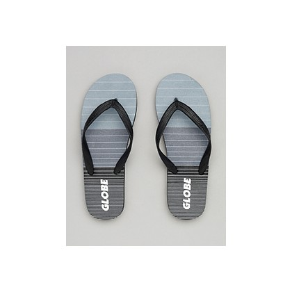 "Aggro Thongs in ""Grey/Grey/Black""  by Globe"