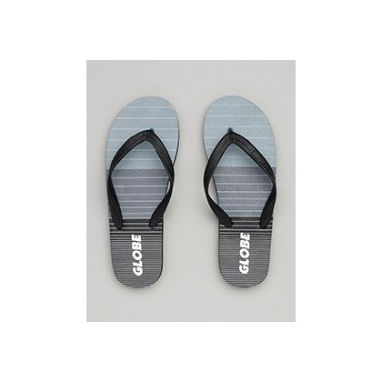 Aggro Thongs in Grey/Grey/Black by Globe