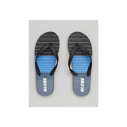 "Aggro Thongs in ""Black/Blue/Grey""  by Globe"