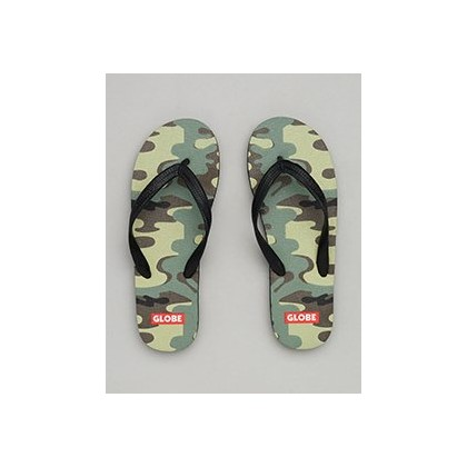 Indy Thongs in Camo by Globe