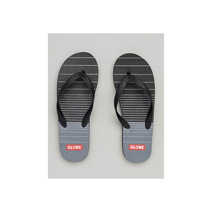 "Indy Thongs in ""Black/Charcoal""  by Globe"
