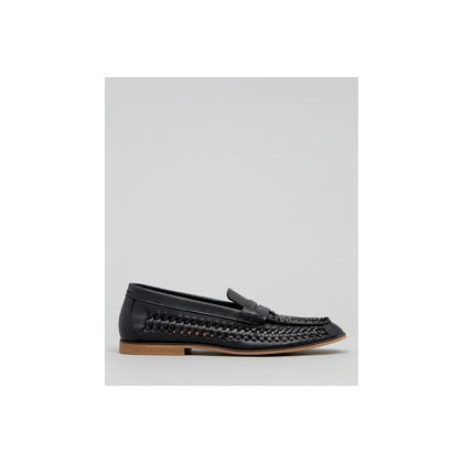 "Hyde Woven Slip-On Shoes in ""Black""  by Flyte"