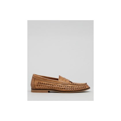 "Hyde Woven Slip-On Shoes in ""Camel""  by Flyte"