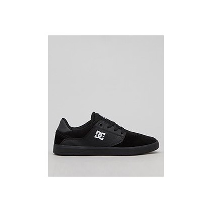 Plaza TC Shoes in Black/Black/White by DC Shoes