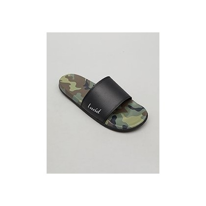 Camo Slides in Camo by Lucid