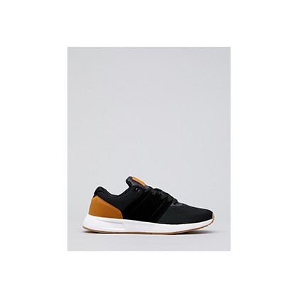 "Rebound Shoes in ""Black/White/Tan""  by Lucid"