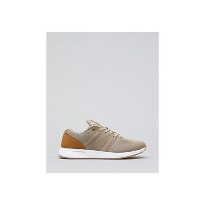 Rebound Shoes in Tan/Tan/White by Lucid