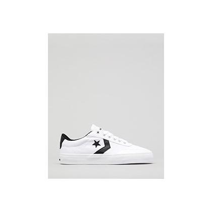 Women's Courtlandt Shoes in White/Black/Black by Converse