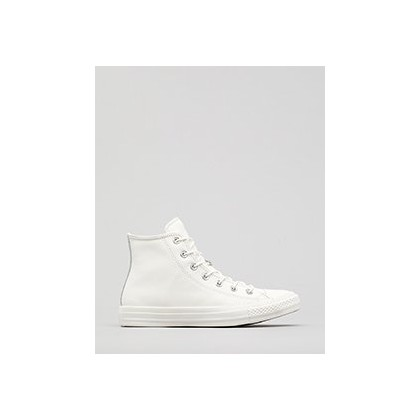 Women's Chuck Taylor All Star Hi-Top Shoes in Vintage White/Silver by Converse