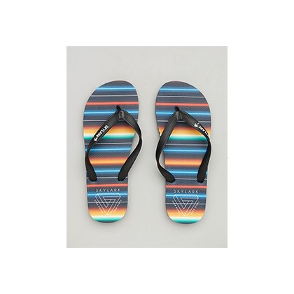 "Siesta Thongs in ""Black/Multi""  by Skylark"