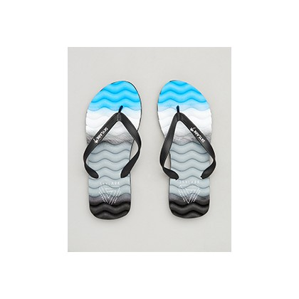 "Highland Thongs in ""Black/Grey/Blue""  by Skylark"