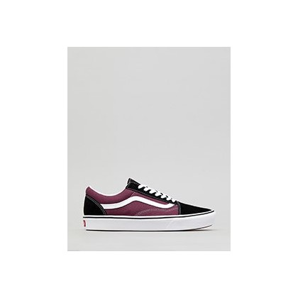 Comfycush Old Skool Shoes in (Sport)Black/Prune/True W by Vans