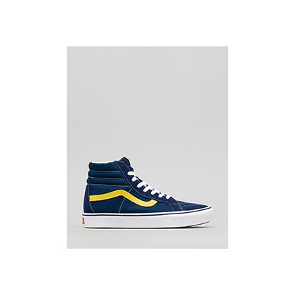 "Comfycush Sk8-hi Reissue in ""Dress Blues/Gilbraltar Se""  by Vans"