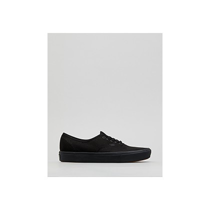 "Comfycush Authentic Shoes in ""(Classic)Black/Black""  by Vans"