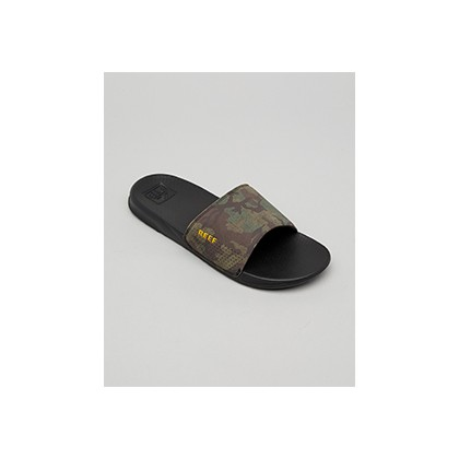 "One Slides in ""Green Camo""  by Reef"