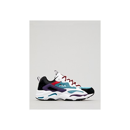 "Ray Tracer Shoes in ""Harbour Blue/White/Black""  by Fila"