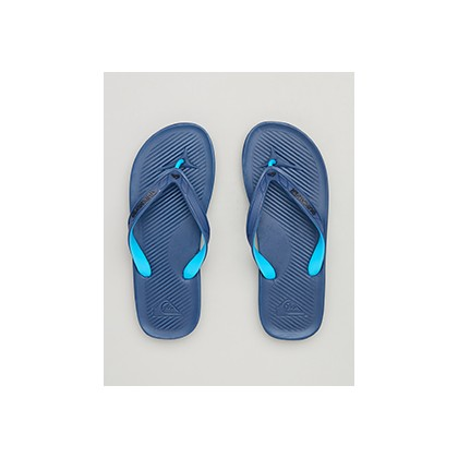 "Haleiwa II Thongs in ""Blue/Black/Blue""""Grey/Green/Grey""""Black/Grey/Black""  by Quiksilver"