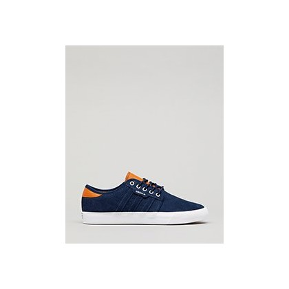 Women's Seeley Shoes in Navy/White by Adidas