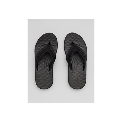 "Sonar Thongs in ""Black/Grey""  by Rip Curl"