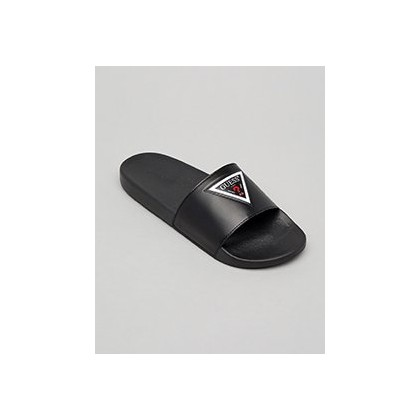 Guess Eruba Slide in Black by GUESS