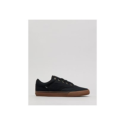 Tribe Shoes in Black/Dark Gum by Globe