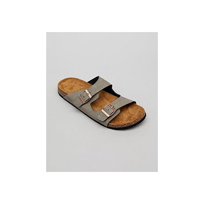 Cortina Sandals in Grey by Lucid