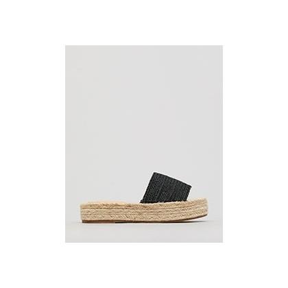 Alan Flatform Shoes in Black by Mooloola