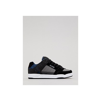 "Tilt Shoes in ""Black/Blue Knit""  by Globe"