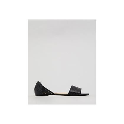 Alcott Ballet Flat Shoes in Black by Mooloola