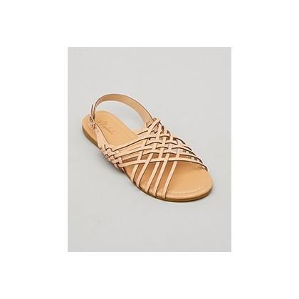 Brandy Sandals in Tan by Mooloola