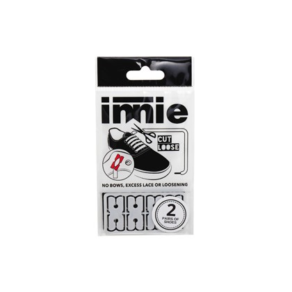 "Shoe Lace Holder Pack in ""Assorted""  by Innie Pty Ltd"
