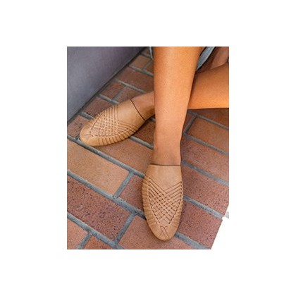 Claudia Sandals in Tan by Mooloola