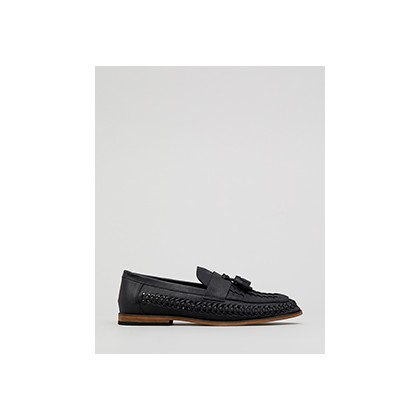 "Seek Woven Slip On Shoes in ""Black""  by Lucid"
