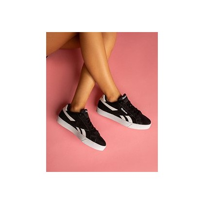 Women's Royal Complete Shoes in Black/White by Reebok