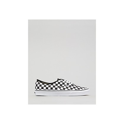 "Authentic Checker Shoes in ""Black/White""  by Vans"