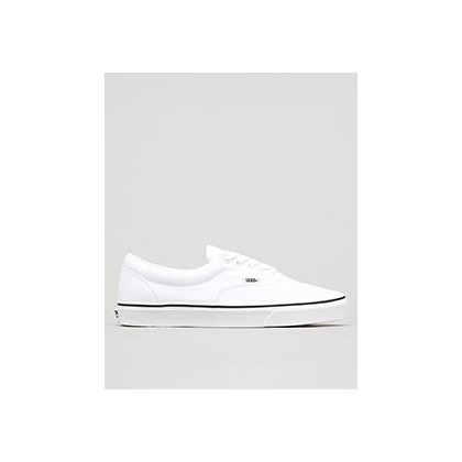 Era Shoes in White by Vans