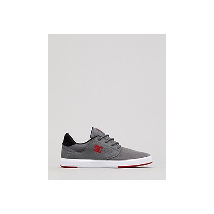"Plaza TC Shoes in ""Grey/Grey/Red""  by Dc Shoes Australia Pty Ltd"