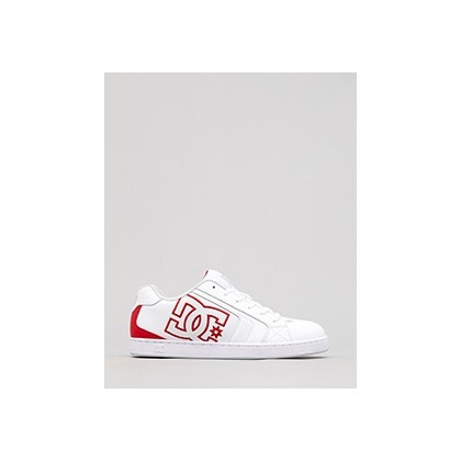 "Net Shoes in ""White/Red/White""  by Dc Shoes Australia Pty Ltd"